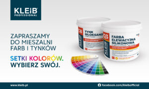chemia budowlana, farba elewacyjna, zaprawa tynkarska, tynk elewacyjny